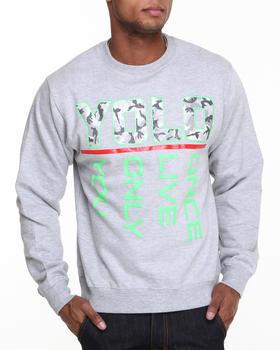 Ackers - YOLO Crewneck Fleece Sweatshirt