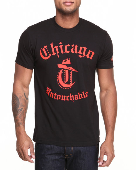 Starter Black Label - Men Black Chicago Bulls Untouchables Tee