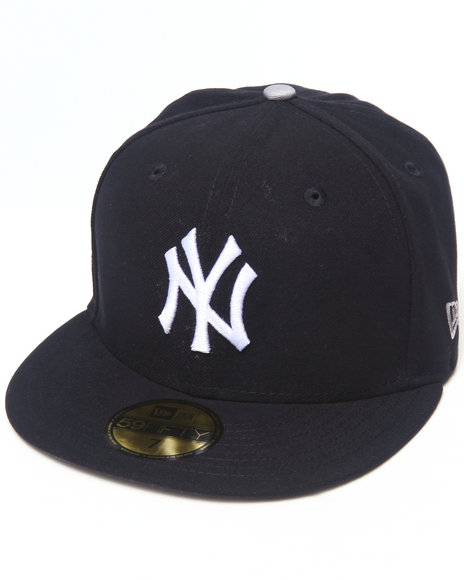 New Era - Men Navy New York Yankees Patch Team 5950 Fitted Hat