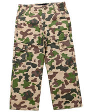 Sizes 4-7x - Kids - PANDA CAMO CARGO PANTS (4-7)