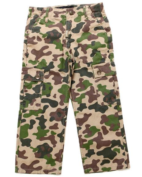 LRG Boys Khaki Panda Camo Cargo Pants (4-7)