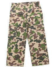 Bottoms - PANDA CAMO CARGO PANTS (8-20)