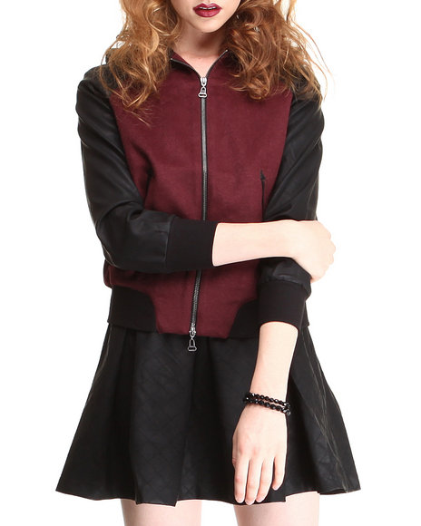 Dv By Dolce Vita - Women Maroon Toniece Jacket