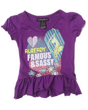 Black Friday Shop - Girls - SASSY RUFFLE TEE (2T-4T)