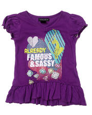 Black Friday Shop - Girls - SASSY RUFFLE TEE (4-6X)