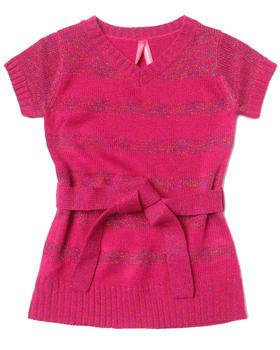 La Galleria - LUREX STRIPE DRESS (2T-4T)