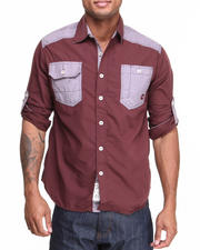 Men - Washington Roll-Up Button-Down Shirt