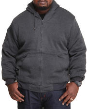 Basic Essentials - Sherpa Lined Hoodie (B&T)