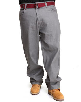 Akademiks - Jackson Belted Raw Wash Denim Jeans (B&T)