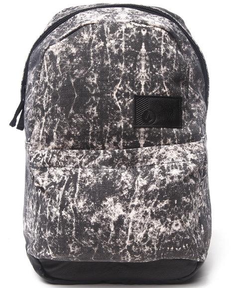 Volcom Women Going Back Canvas Backpack Black