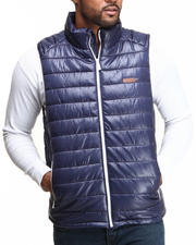Men - MO7 Contrast Lining Bubble Vest
