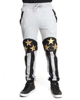 Forte' - American Flag Fleece Pants