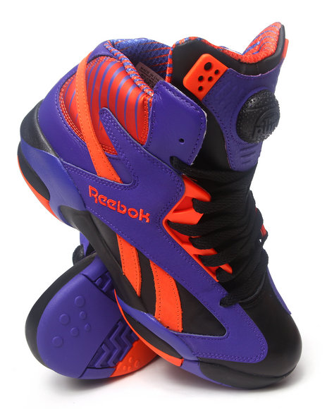 Reebok - Men Black Shaq Attaq Pump Sneakers