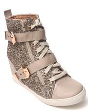 Wedges - Kayleigh Glitter Sneaker