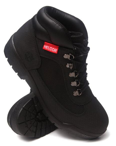 Timberland - Men Black Timberland Icon Waterproof Field Boots