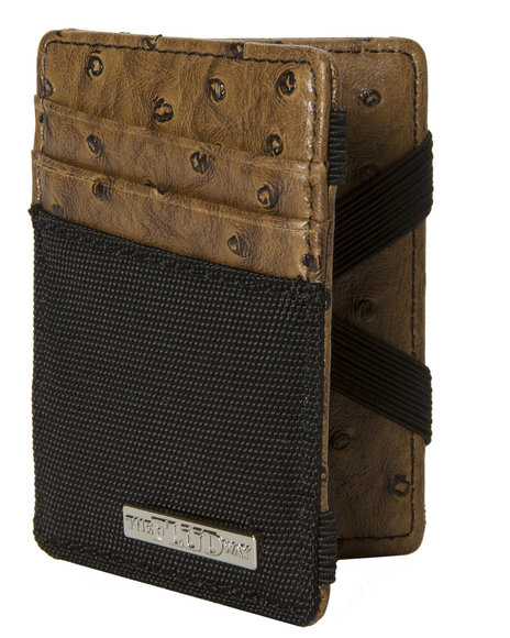 Flud Watches Magic Wallet Brown