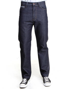 MO7 - Classic Straight fit raw denim Jeans
