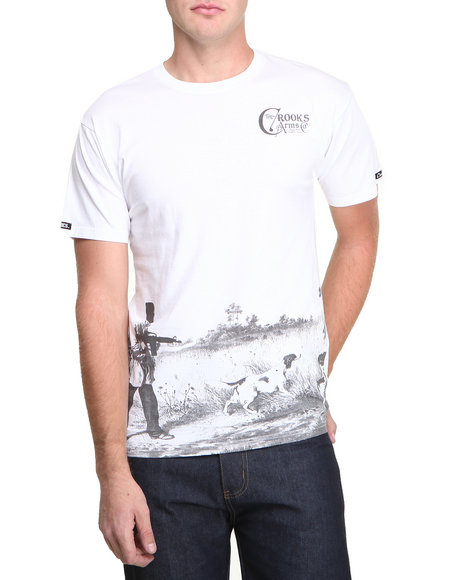 Crooks & Castles White Masqued T-Shirt