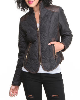 Fashion Lab - Quilted Puffer Jacket