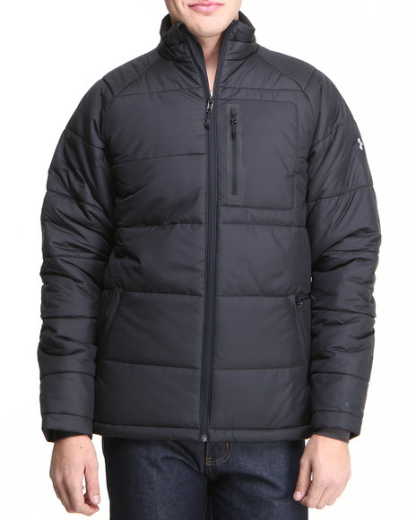 Under Armour Black Coldgear Infrared Alpinlite Max Jacket (Water Resistant)