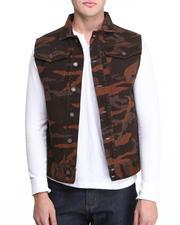 Men - Espresso Camo Vest