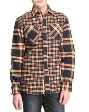 Pelle Pelle - Pelle L/S Plaid Flannel Button Down Shirt