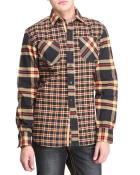 Pelle Pelle - Pelle L/S Plaid Flannel Button Down Shirt