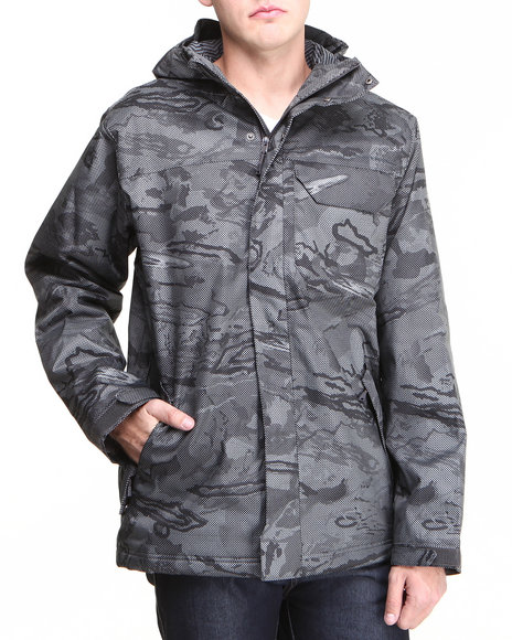 Under Armour Camo Coldgear Infrared Hacker Jacket (Waterproof & Breathable)