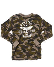 Arcade Styles - L/S CAMO THERMAL (8-20)