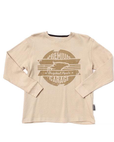 Arcade Styles - Boys Khaki L/S Military Thermal (8-20) - $7.99