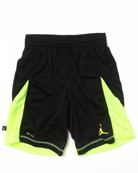 Air Jordan - Boys Black Dominate Shorts (8-20)