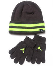 Air Jordan - Cuffed Beanie & Gloves Set (8-20)