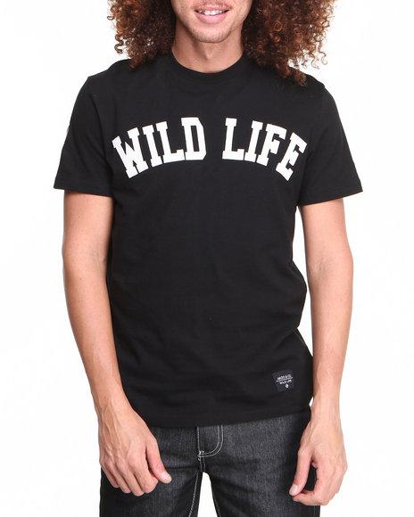 AKOO Black Wild Life Knit Tee