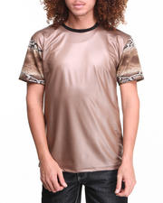 Men - Pu Pieced Gilt Tee