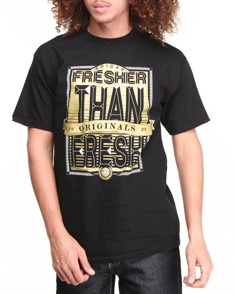 Adidas Black Fresher Than Fresh Tee
