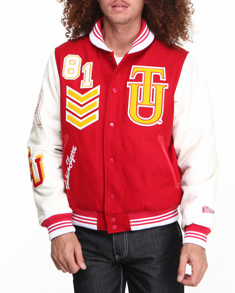 - Red Tuskegee University Wool Award Jacket