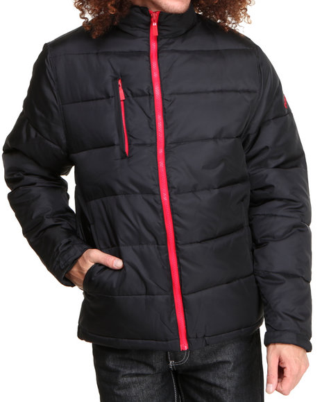 Pelle Pelle - Men Black Tiger Bubble Jacket
