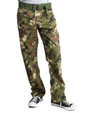 Basic Essentials - Splatter Camo Pants