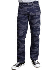 Basic Essentials - Tiger Camo Denim Jeans
