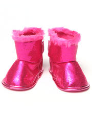Girls - GLITTER BOOTIE (NEWBORN)