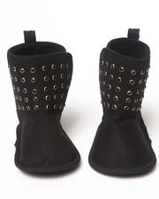 Girls - STUDDED BOOTIE (NEWBORN)