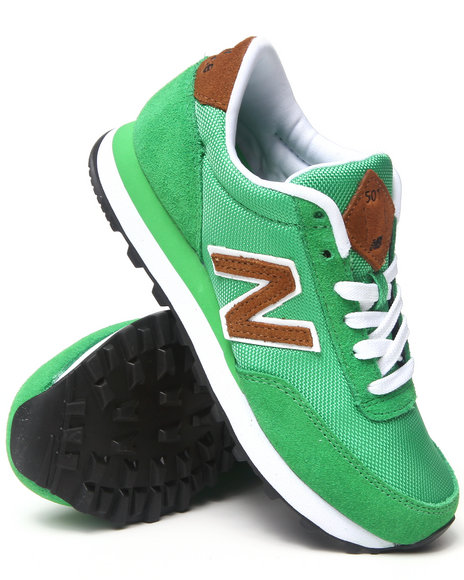 New Balance Green 501 Back Pack Sneakers