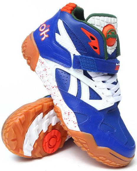 Reebok Blue Gators Paydirt Pump Sneakers