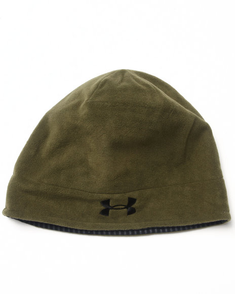 Under Armour Coldgear Infrared Storm Blustery 2 Beanie Hat Green