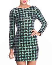 Cyber Monday Deals - Gabby Diamond Sequin Dress