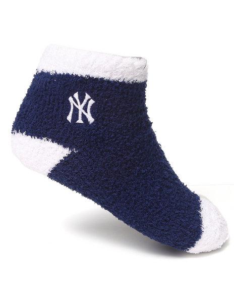Nba Mlb Nfl Gear New York Yankees Comfy Socks Blue