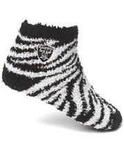 Women - Oakland Raiders Comfy Socks