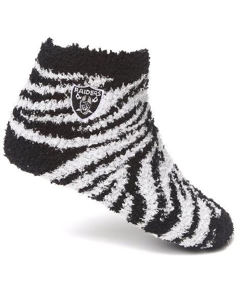 Nba Mlb Nfl Gear Oakland Raiders Comfy Socks Black
