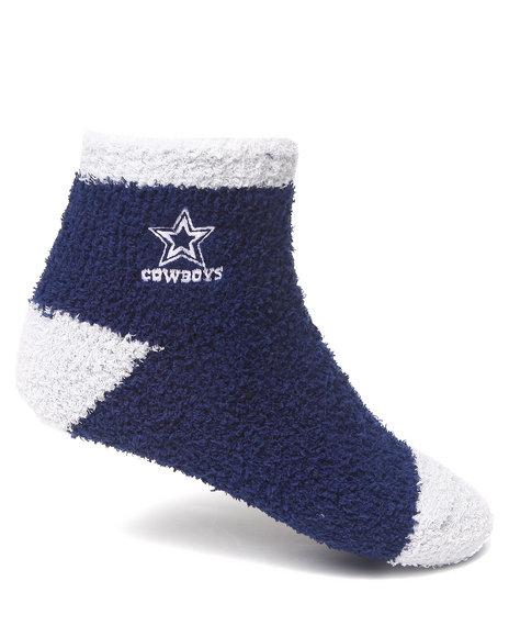 Nba Mlb Nfl Gear Dallas Cowboys Comfy Socks Blue