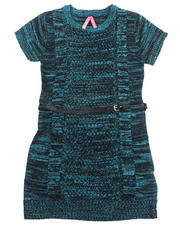 Sizes 7-16 - Big Kids - TWEED SWEATER DRESS (7-16)